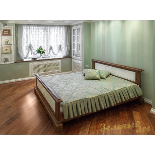 Кровать из дерева 009
