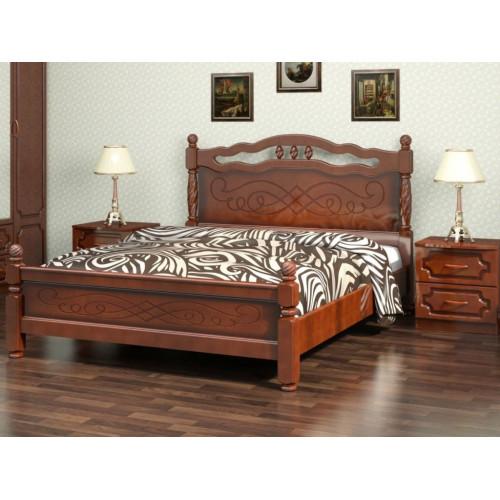 Кровать из дерева 012