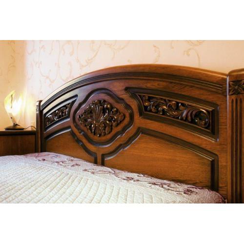 Кровать - резьба по дереву
