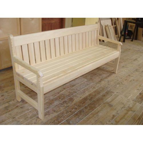 Деревянная скамейка 006