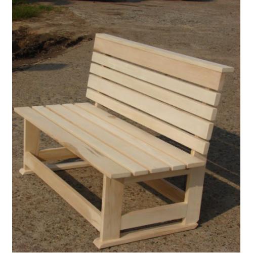 Деревянная скамейка 007