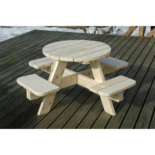 Деревянная скамейка 008