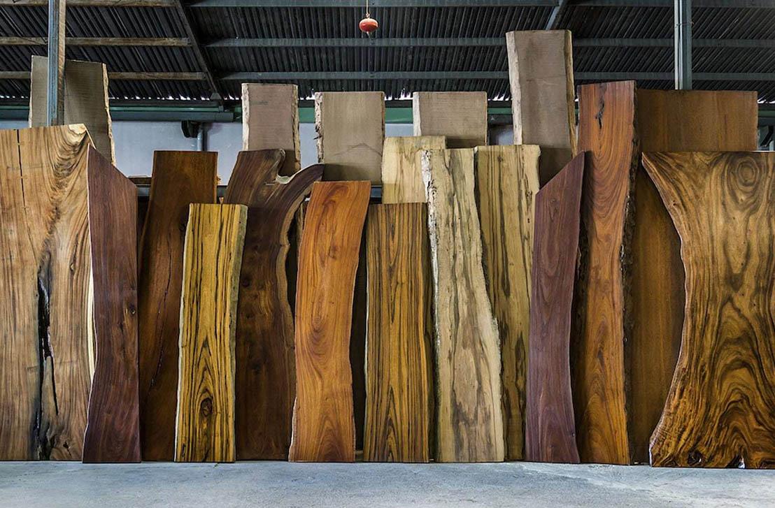 Деревянные слэбы | Зеленый лес